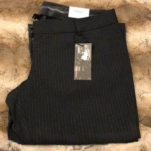 NWT Express Stylist Dress Pants Pin Stripe 12